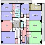 大島ビル3階 貸倉庫